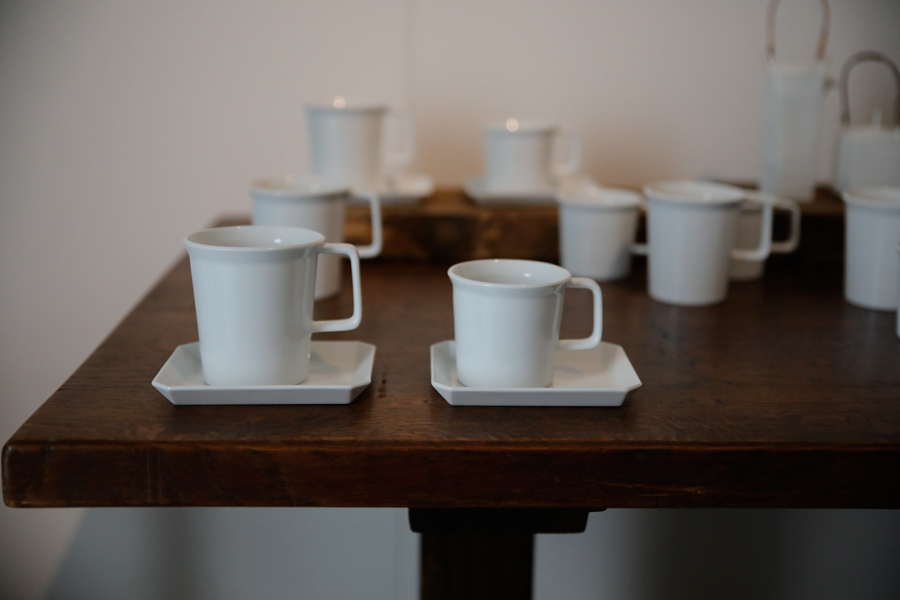 TY Coffee Cup & TY Square Plate / 1616 arita japan